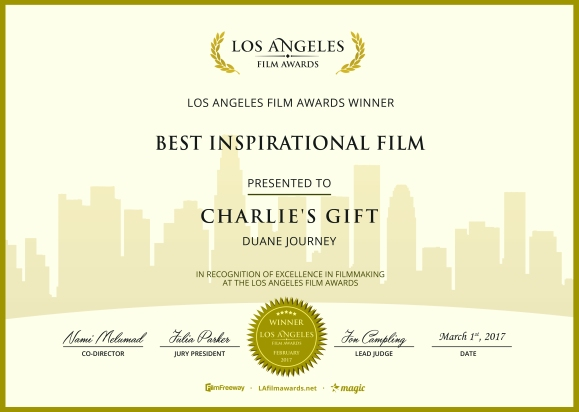 Charlie's Gift - Best Inspirational Film