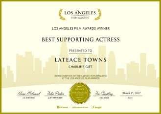 Charlie's Gift - Best Supporting Actress