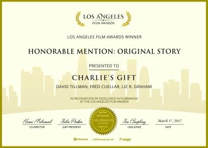 Charlie's Gift - HM Original Story