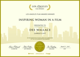 Charlie's Gift - Inspiring Woman in a Film